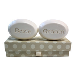New Hope Soap - Scented Soap Bar Personalized - Bride & Groom, Lemon Verbena - Personalized Scented Soap Bar Gift Set Engraved with Bride & Groom