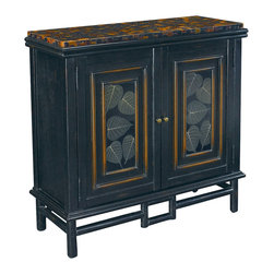 Hammary - Hammary T71082-00 Hidden Treasures Door Accent Chest - The Hidden Treasures collection is a fabulous assortment of one-of-a-kind accent pieces inspired by the greatest furniture designs from around the world. Each selection is a true treasure - rich in old world icons and traditions. All the pieces in this collection are crafted with attention to every detail. From brass nailhead trim and exquisite hand-painting to elegant shaping and decorative trim, every item is a unique work of art. A wide variety of materials is used to create the perfect look and finest quality - from exotic woods, leather and stone to raffia and glass. The huge selection of finishes, hardware, exceptional carvings and other final touches offer unsurpassed versatility for any room in the home. Hidden Treasures includes cocktail tables, occasional and accent pieces, trunks, chests, consoles, wine racks, desks, entertainment units and interesting storage pieces. Place one in a comfortable reading nook... In the family room for flair and variety... In the foyer for a welcome look... In a bedroom for cozy style... Or in the office for function and versatility. The pieces in this collection mix beautifully with any decorating style and will easily become the focal point in any setting.