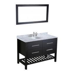 "Bosconi - Bosconi SB-250-4 47"" Contemporary Single Vanity - Bosconi SB-250-4 47"" Contemporary Single Vanity"