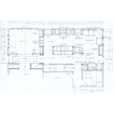 Traditional Floor Plan by The Sky is the Limit Design