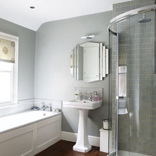 Contemporary  Grey bathroom - housetohome.co.uk