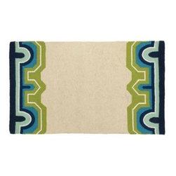 Arcata Rug - Blue & Green - Clayton Gray Home -