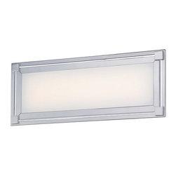 "Kovacs - Kovacs P1162-077-L 1 Light 16"" Width ADA Compliant LED Bathroom Bath Bar - Single Light 16"" Width ADA Compliant LED Bathroom Bath Bar from the Framed CollectionFeatures:"