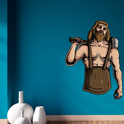 Greek God Vinyl Wall Decal GreekGodUScolor023; 72 in. - Vinyl Wall Decals are an awesome way to bring a room to life!