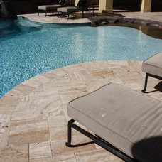 Mediterranean Swimming Pools And Spas by RockImport.com
