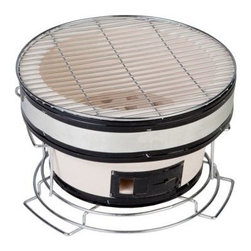 Fire Sense - Fire Sense HotSpot Round Yakatori Charcoal Grill - Discover what the Japanese have  known for centuries.