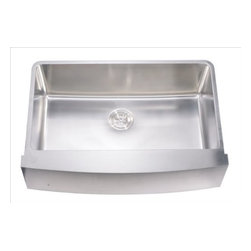 Dawn - DAF3320C Under Mount Series Apron Sink in Stainless - 304 Stainless Steel, 18/10 Chrome-Nickel