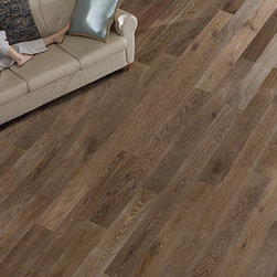 Palladio Wide Plank Hardwood Floor - Palladio Tobacco Barn Hardwood Floor