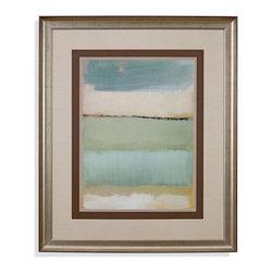 Bassett Mirror - Bassett Mirror Framed Under Glass Art, Noon I - Noon I