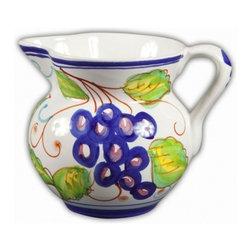 "Ceramic - Bellarte Uva 8.5"" Pitcher - Bellarte Uva 8.5"" Ceramic Pitcher"