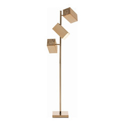 Elissa Floor Lamp, Rose Gold