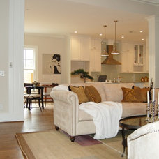Traditional Living Room by Accent Home Staging, LLC (Atlanta, GA)