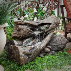 Eclectic Outdoor Fountains by Hayneedle