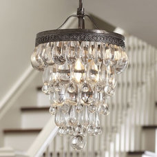 Chandeliers Clarissa Glass Drop Small Chandelier | Pottery Barn