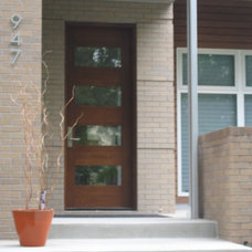 Modern Front Doors by Deines Custom Door