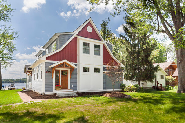Traditional Exterior by Forward Design Build