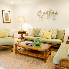 Beach Style Living Room by Ashley Camper Photography