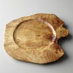 Root Wood Charger Plate