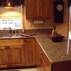 Traditional Kitchen Countertops by Vangura Surfacing Products