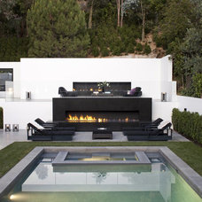 Modern Patio by Biglin Architectural Group