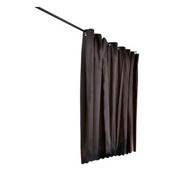 """RoomDividersNow - Hanging Room Divider Kit, Black, Xx-Large (for Rooms 8' High & 16'9"""" to 20' Wide - Looking for a great way to divide a room, create privacy, or hide clutter? Room divider kits present a creative and sleek way to divide space within minutes. Kits come with everything needed to create and separate spaces up to 20 feet wide. Whether you live in a shared bedroom, studio, dorm, or apartment, our top quality room divider kits can separate and compliment your space with ease."""