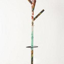 "Swarm - Splashed Coat Rack - Wood, paint, metal78""H, 24"" diameterHandmade in Netherlands"