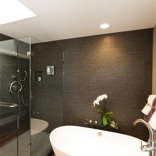 Contemporary Bathroom by Rebecca Ward Design