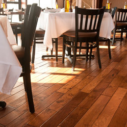 German Gasthaus Series By Shamrock Plank Flooring Shown In