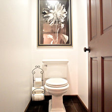 Traditional Bathroom by The Ranch Mine