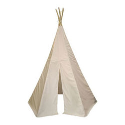 Dexton Six-foot Great Plains Tepee - In case you run out of sheets and blankets for your fort, having a tepee on hand is never a bad idea.