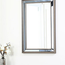 Abbyson Living London Rectangle Wall Mirror | Overstock.com Shopping - The Best