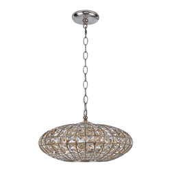 Crystorama - Crystorama 345-SA Solstice 5 Light Mini Chandeliers in Antique Silver - Lighting is often described as jewelry for the home. Crystorama makes good on the metaphor with its newest collection of chandeliers. We have taken the warm glow in the golden square crystal shade and placed it inside the antique silver metal work, creating a sophisticated illuminating decor.