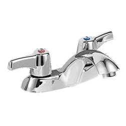 Delta - Delta 21c143 Commercial Two Handle Lav Faucet Chrome - Less Pop-up - Delta 21C143 Commercial Faucet Line is designed for long lasting performance. The Delta 21C143 is a Two Handle Lavatory Faucet in Chrome Drain Is Not Included.