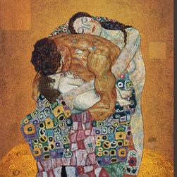Artcom - The Family by Gustav Klimt - The Family by Gustav Klimt is a Stretched Canvas Print.