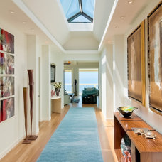 Contemporary Hall by Dean J. Birinyi Photography