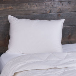 None - Dream Naturally Wool/ Down Blend Summer Pillow - The Dream Naturally wool and down blend pillow is the perfect summer pillow,offering the luxury of down with the cooling properties of wool. The filling is covered in sateen-weave 300 thread count cotton,resulting in a temperature-regulating pillow.