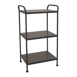The All-Purpose Rack - This simple, suitable, elegant 3-tier wooden rack will surely feed your bathroom's cravings for more storage space without the bulk of a full cabinet. Store with freshly folded towels, rolls of toilet paper, and other bathroom necessities for a truly functional use.