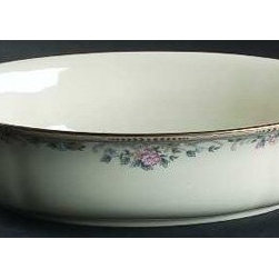 Lenox Spring Vista Large Open Vegetable Bowl - Pick from nature's bounty in the Lenox Spring Vista Large Open Vegetable Bowl, which is carefully illustrated with a beautiful floral design. The contemporary-styled vegetable bowl is made from ivory bone china and accented with 24 karat gold. It's dishwasher-safe for easy cleaning and measures 9.5 inches in diameter.About LenoxThe Lenox Corporation is an industry leader in premium tabletops, giftware, and collectibles. The company markets its products under the Lenox, Dansk, and Gorham brands, propelled by a shared commitment to quality and design that makes the brands among the best known and respected in the industry. Collectively, the three brands share 340 years of tabletop and giftware expertise.