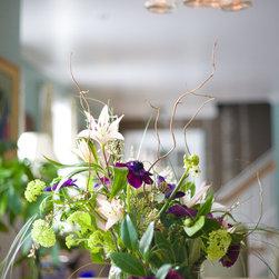 Purple Flowers - Liz Donnelly