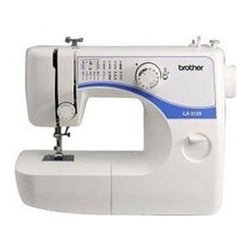 """Brother Sewing - Compact Sewing Machine Fashion - Brother Compact Sewing Machine Fashion Faces Decorative Skins 3125E - 35 Stitch Function Free Arm Sewing Machine - 35 Stitch functions using 14 built-in stitches. 3 included Fashion Faces. Automatic 4 step buttonholer. Built-in elastic and blind hem stitches. Sews straight satin and zigzag stitches. Auto-set length and width adjustment. Quick change presser feet. Flatbed/Free arm convertible sewing surface. Built-in accessory storage. Quick bobbin winding system. Electronic speed control. Forward and reverse sewing. Adjustable thread tension control. Lightweight and compact with built-in handle for portability. Safety power and light switch. Bilingual instructions (English/Spanish). 25 year limited warranty. Dimensions: 15"""" x 6"""" x 11.75""""."""