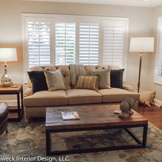 Traditional Living Room by Susan Muschweck Interior Design, LLC