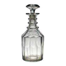 Lavish Shoestring - Consigned Nelson Type Port or Sherry Decanter, Antique English Georgian, 1820s - This is a vintage one-of-a-kind item.