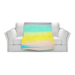 DiaNoche Designs - Throw Blanket Fleece - Skies the Limit II - Original Artwork printed to an ultra soft fleece Blanket for a unique look and feel of your living room couch or bedroom space.  DiaNoche Designs uses images from artists all over the world to create Illuminated art, Canvas Art, Sheets, Pillows, Duvets, Blankets and many other items that you can print to.  Every purchase supports an artist!