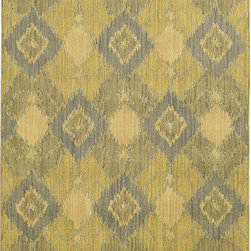 Tommy Bahama Area Rugs - Cabana 5994G Green and Blue Rectangular: 5 Ft. 3 In. x 7 Ft. 6 In. Rug - - The Cabana collection from Tommy Bahama Home features a line of area rugs beautiful enough for the indoors but durable enough to bring its beauty outdoors. The line boasts an 8-color spaced dyed loop pile for added texture, depth and dimension. Featuring a sophisticated color palette in traditional to global designs, Cabana is the perfect addition to any indoor or outdoor space.  - Construction: Machine Woven  - Material: Polypropylene  - Care Instructions: Spot clean with water and mild soap  - Primary Pattern: Geometric  - Pile Height in Inches: 0.31  - Country of Origin: Egypt Tommy Bahama Area Rugs - 748679393671