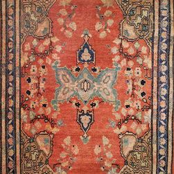 Persian Scatter Rugs - rug #: 10-158