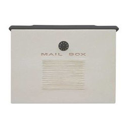 Qualarc, Inc. - Wall Mount Crea Composite Mailbox, White - Dea's Garden Mailbox Collection
