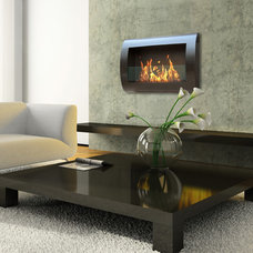 Contemporary Fireplaces by LightKulture.com