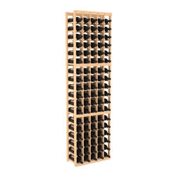 Wine Racks America - 5 Column Standard Wine Cellar Kit in Pine, (Unstained) - Grow your fine wine collection with this easy-to-assemble storage cellar. It's made of pine, is available in your choice of colors and finishes, and saves space with its compact vertical design. Put it together and expand as needed thanks to modular design. Cheers!