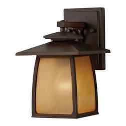 Murray Feiss - Murray Feiss OL8500SBR Wright House 1 Bulb Sorrel Brown Outdoor Lighting - Murray Feiss OL8500SBR Wright House 1 Bulb Sorrel Brown Outdoor Lighting