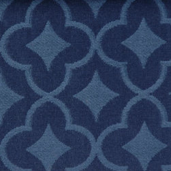 Medallion/Tile - Lapis Upholstery Fabric - Item #1010033-563.